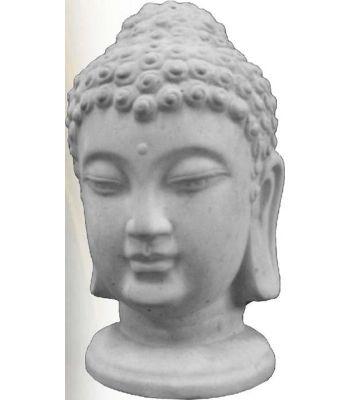 Buddha-Kopf Statue