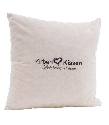 Original Zirben Kissen 40x40 cm